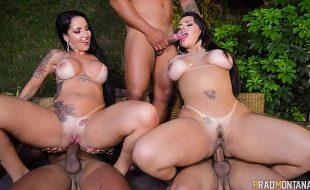 Angel lima junto de amiga fazendo video porno online