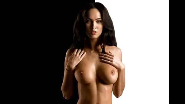 Megan fox nua no video mostrando os peitos durinhos